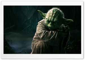 Master Yoda, Star Wars HD Wide Wallpaper for 4K UHD Widescreen desktop & smartphone