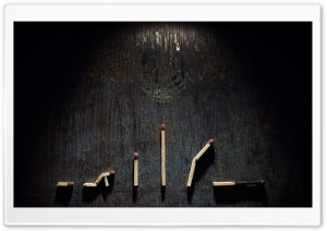 Matchstick Art HD Wide Wallpaper for Widescreen