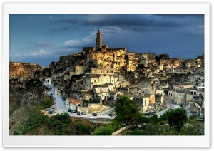 Matera HD Wide Wallpaper for Widescreen