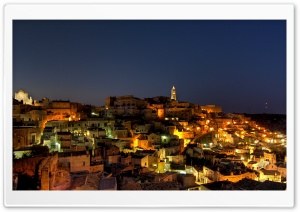 Matera, Italy HD Wide Wallpaper for Widescreen