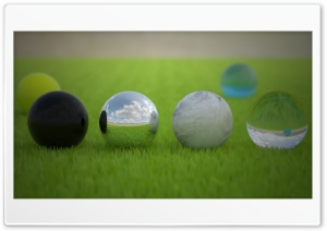 Material Balls HD Wide Wallpaper for Widescreen