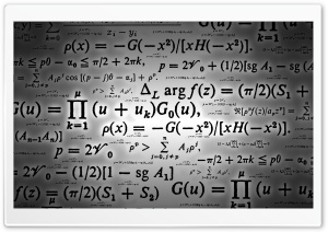 Mathematics HD Wide Wallpaper for Widescreen