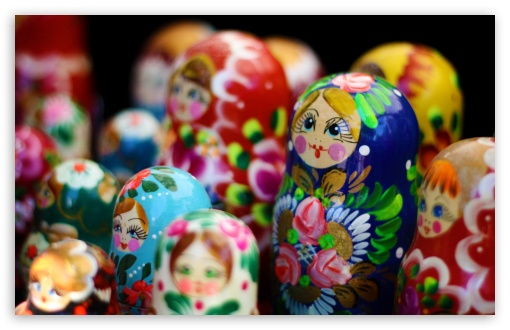 Matryoshka Dolls HD wallpaper for Wide 16:10 5:3 Widescreen WHXGA WQXGA WUXGA WXGA WGA ; HD 16:9 High Definition WQHD QWXGA 1080p 900p 720p QHD nHD ; UHD 16:9 WQHD QWXGA 1080p 900p 720p QHD nHD ; Standard 4:3 5:4 3:2 Fullscreen UXGA XGA SVGA QSXGA SXGA DVGA HVGA HQVGA devices ( Apple PowerBook G4 iPhone 4 3G 3GS iPod Touch ) ; Tablet 1:1 ; iPad 1/2/Mini ; Mobile 4:3 5:3 3:2 16:9 5:4 - UXGA XGA SVGA WGA DVGA HVGA HQVGA devices ( Apple PowerBook G4 iPhone 4 3G 3GS iPod Touch ) WQHD QWXGA 1080p 900p 720p QHD nHD QSXGA SXGA ;