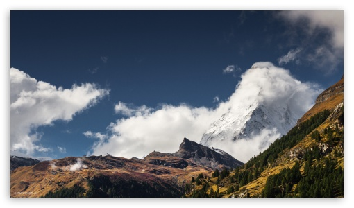 Matterhorn View From Zermatt Switzerland 4k Hd Desktop