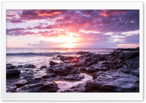 Maui Sunset Beach Ultra HD Wallpaper for 4K UHD Widescreen desktop, tablet & smartphone