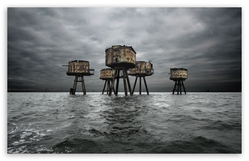 Maunsell Forts In The Thames Estuary, England HD wallpaper for Wide 16:10 5:3 Widescreen WHXGA WQXGA WUXGA WXGA WGA ; HD 16:9 High Definition WQHD QWXGA 1080p 900p 720p QHD nHD ; Standard 4:3 5:4 3:2 Fullscreen UXGA XGA SVGA QSXGA SXGA DVGA HVGA HQVGA devices ( Apple PowerBook G4 iPhone 4 3G 3GS iPod Touch ) ; Tablet 1:1 ; iPad 1/2/Mini ; Mobile 4:3 5:3 3:2 16:9 5:4 - UXGA XGA SVGA WGA DVGA HVGA HQVGA devices ( Apple PowerBook G4 iPhone 4 3G 3GS iPod Touch ) WQHD QWXGA 1080p 900p 720p QHD nHD QSXGA SXGA ;