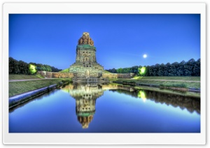 Mausoleum In Leipzig, Germany HD Wide Wallpaper for 4K UHD Widescreen desktop & smartphone
