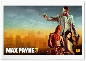 Max Payne 3 HD Wide Wallpaper for Widescreen
