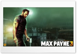 Max Payne 3 Artwork HD Wide Wallpaper for Widescreen
