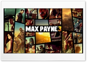 MAX PAYNE 3 vr. GTA5 HD Wide Wallpaper for 4K UHD Widescreen desktop & smartphone