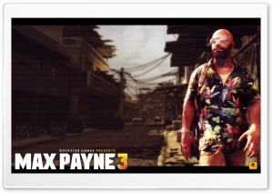 MaxPayne3 HD Wide Wallpaper for 4K UHD Widescreen desktop & smartphone