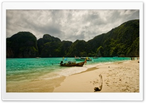 Maya Beach HD Wide Wallpaper for Widescreen