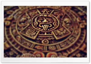 Mayan Clock HD Wide Wallpaper for Widescreen