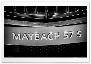 Maybach 57 S HD Wide Wallpaper for 4K UHD Widescreen desktop & smartphone