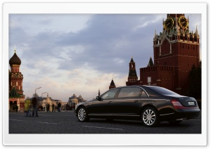 Maybach In Moscow HD Wide Wallpaper for Widescreen