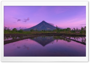 Mayon Volcano HD Wide Wallpaper for Widescreen