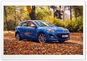 Mazda 3 - Autumn Time HD Wide Wallpaper for 4K UHD Widescreen desktop & smartphone
