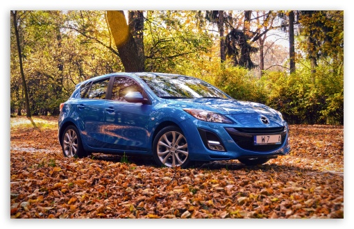Mazda 3 autumn time 4k hd desktop wallpaper for wide download mazda 3 autumn time hd wallpaper voltagebd Choice Image