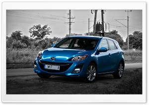 Mazda 3 - Color of my World HD Wide Wallpaper for Widescreen