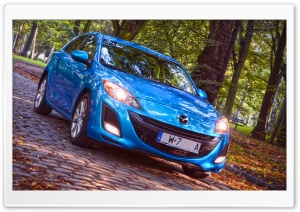 Mazda 3 KMB Kirei Autumn Time 2012 I HD Wide Wallpaper for Widescreen