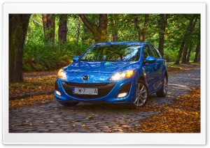 Mazda 3 KMB Kirei Autumn Time 2012 II HD Wide Wallpaper for Widescreen