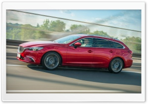 Mazda 6 by KMB on the move Ultra HD Wallpaper for 4K UHD Widescreen desktop, tablet & smartphone