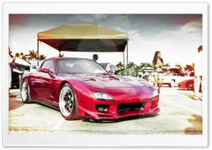 Mazda RX7 HD Wide Wallpaper for Widescreen