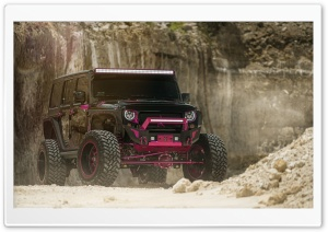 MC Fuel Ladies Jeep HD Wide Wallpaper for Widescreen