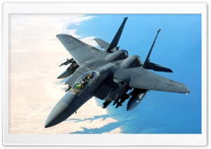 McDonnell Douglas F-15 Eagle HD Wide Wallpaper for 4K UHD Widescreen desktop & smartphone