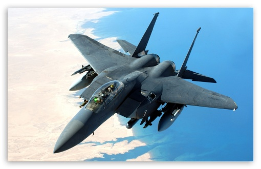 McDonnell Douglas F-15 Eagle HD wallpaper for Wide 16:10 5:3 Widescreen WHXGA WQXGA WUXGA WXGA WGA ; Standard 4:3 5:4 3:2 Fullscreen UXGA XGA SVGA QSXGA SXGA DVGA HVGA HQVGA devices ( Apple PowerBook G4 iPhone 4 3G 3GS iPod Touch ) ; iPad 1/2/Mini ; Mobile 4:3 5:3 3:2 5:4 - UXGA XGA SVGA WGA DVGA HVGA HQVGA devices ( Apple PowerBook G4 iPhone 4 3G 3GS iPod Touch ) QSXGA SXGA ;