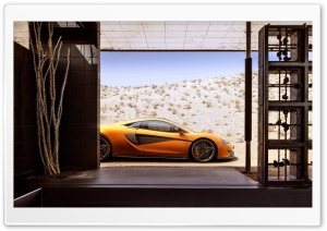 McLaren 570S 2015 HD Wide Wallpaper for Widescreen