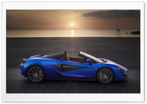 McLaren 570S Spider 2018 Ultra HD Wallpaper for 4K UHD Widescreen desktop, tablet & smartphone