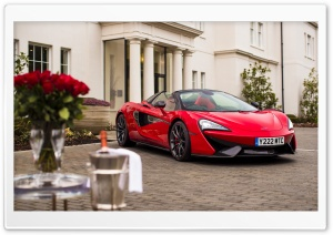 McLaren 570S Spider Valentine s Day 2018 HD Wide Wallpaper for 4K UHD Widescreen desktop & smartphone