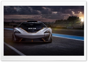 McLaren 650S GT3 Race Car HD Wide Wallpaper for Widescreen