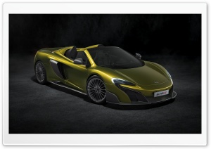 McLaren 675LT Spider 2016 Ultra HD Wallpaper for 4K UHD Widescreen desktop, tablet & smartphone