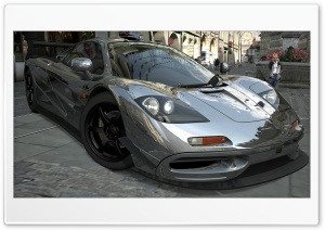 McLaren F1 Chrome HD Wide Wallpaper for 4K UHD Widescreen desktop & smartphone