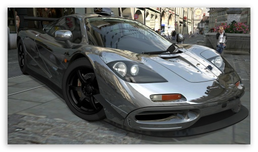 McLaren F1 Chrome HD wallpaper for HD 16:9 High Definition WQHD QWXGA 1080p 900p 720p QHD nHD ; UHD 16:9 WQHD QWXGA 1080p 900p 720p QHD nHD ; Mobile 16:9 - WQHD QWXGA 1080p 900p 720p QHD nHD ;