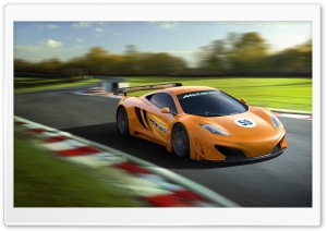 McLaren MP4-12C-CGI HD Wide Wallpaper for Widescreen