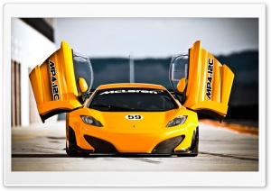 McLaren MP4 12C Doors HD Wide Wallpaper for Widescreen