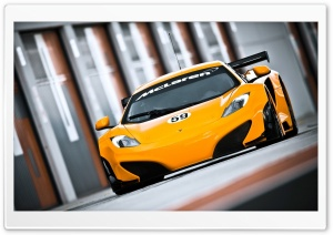 McLaren MP4 12C GT3 HD Wide Wallpaper for 4K UHD Widescreen desktop & smartphone