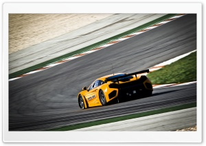 Mclaren Mp4   12C Curve Track HD Wide Wallpaper for Widescreen