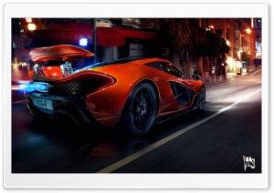 McLaren P1 HD Wide Wallpaper for Widescreen