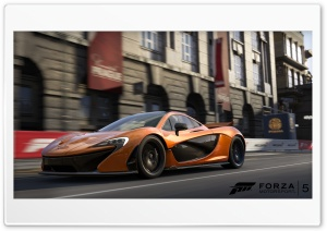 McLaren P1 - Forza Motorsport 5 HD Wide Wallpaper for 4K UHD Widescreen desktop & smartphone