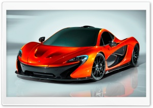 McLaren P1 Concept HD Wide Wallpaper for Widescreen