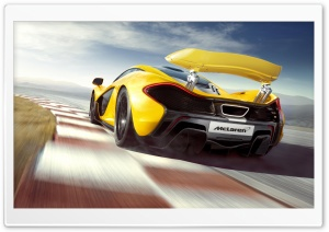 McLaren P1 Supercar HD Wide Wallpaper for Widescreen