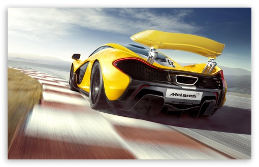 Download McLaren P1 Supercar UltraHD Wallpaper