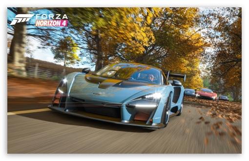 Mclaren Senna In Forza Horizon 4 Ultra Hd Desktop Background