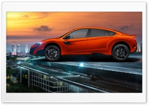 McLaren SUV HD Wide Wallpaper for Widescreen