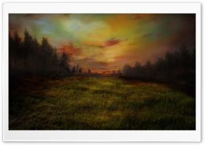 Meadow Painting Ultra HD Wallpaper for 4K UHD Widescreen desktop, tablet & smartphone