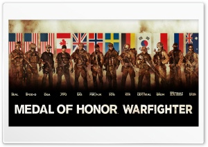 Medal of Honor Warfighter Tier 1 Special Forces HD Wide Wallpaper for 4K UHD Widescreen desktop & smartphone